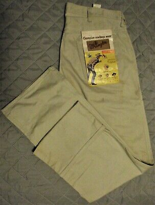 c4d5eb79 Vintage *Nos* With Tags Mens Tan Wrangler Jeans With Tags Late 50'S - Early