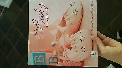 Beautiful Baby Girls Birth Milestone Photo Record Book Journal Keepsake