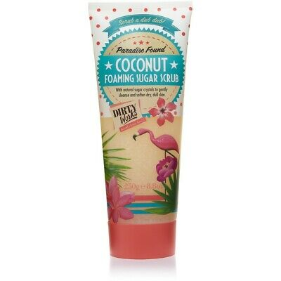Dirty Works Coconut Foaming Sugar Scrub 200g