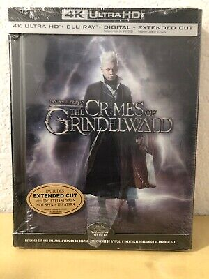 Fantastic Beasts And The Crimes Of Grindelwald 4K UHD + Blu-Ray + Digital + Book