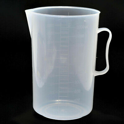 Kood 2000ml 2 Litre Liquid Chemical Graduated Measuring Jug Beaker Darkroom (UK)