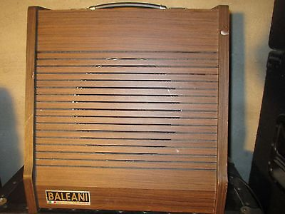 70's BALEANI AMP - made in ITALY