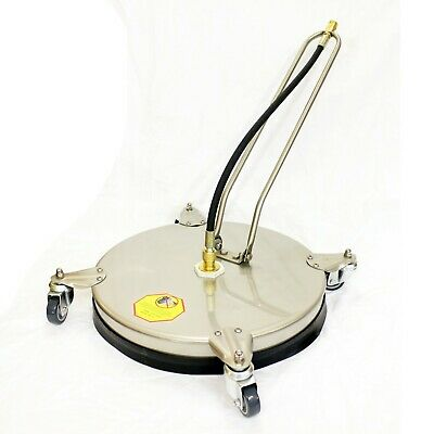 VT62-420S Rotary Floor Cleaning Tool Surface Cleaner - Stainless Steel 420mm 18""