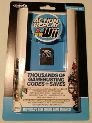 NEW Datel Action Replay ver DUS0352 Nintendo Wii SEALED codes&saves stk#2019120