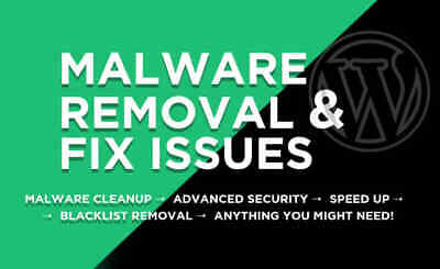 Malware removal and Securing Hacked Wordpress site