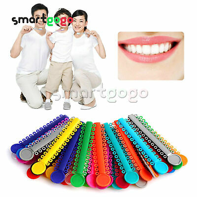 1040pcs/1park color for choose Dental Orthodontic Ligature Ties FDA approved BSG