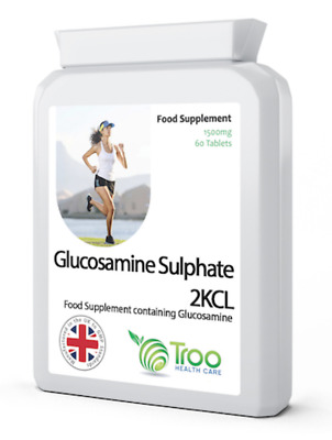 Glucosamine Sulphate 2KCL 1500mg 60 Tablets