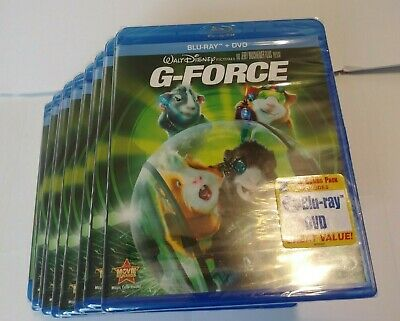 LOT OF 10  Disney G-Force 2010 Blu-Ray & DVD 2 Disk Combo Pack Brand New Sealed