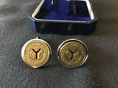 Subway Map Cufflinks.New York City Transit Cufflinks Replica Nyc Subway Token New W Gift