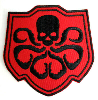 """Captain America HYDRA//Red Skull 3.5/"""" Yellow//Green Comic Book Patch CAPA-02Y"""