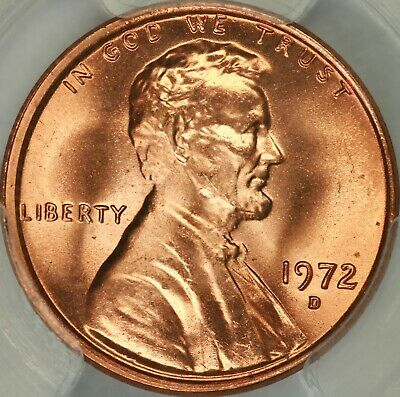 1972-D Lincoln Cent PCGS MS67RD