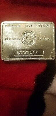10 OZ  999 Rcm Royal Canadian Mint Silver Bar Error In