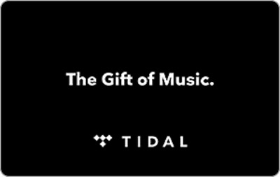USA US American Tidal Gift Card Code (Email Delivery) $20