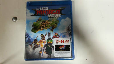 New Sealed The LEGO NINJAGO Movie (Blu-ray Disc, 2017)