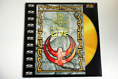 MAGNUM _ On The Wings Of Heaven _ LIVE    PAL   LASERDISC still sealed