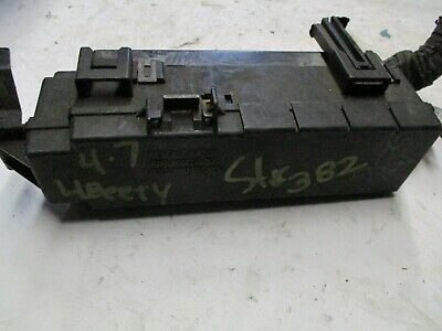 02 03 04 2002-2004 jeep liberty oem engine compartment fuse box