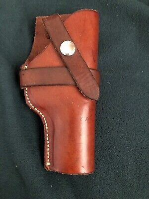 GEORGE LAWRENCE PORTLAND OR Leather Gun Pistol Holster and