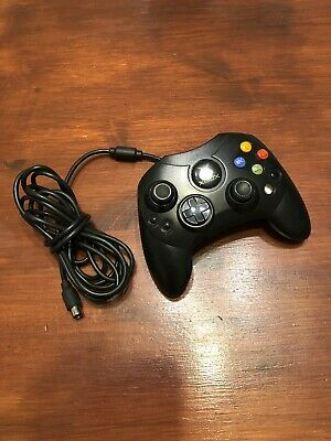 XBOX Original S Wired Official Controller Control Pad Black Microsoft Working