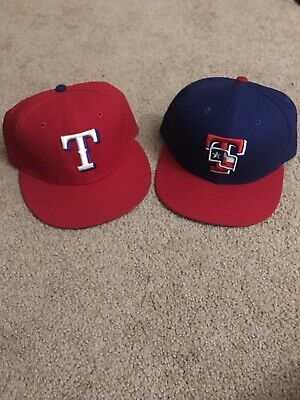 a677db7c TEXAS RANGERS NEW Era MLB Authentic Collection 59Fifty,Cap,Hat 7 3/4 ...