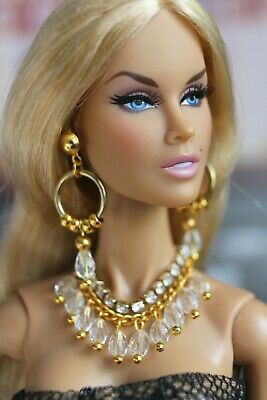 Fashion royalty/Poppy Parker/Color Infusion/jewelry necklace earrings accessorie