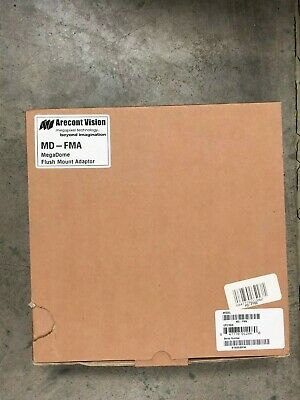 """ARECONT VISION MegaDome 6/"""" ALUMINUM BOX ADAPTER MOUNT PLATE MD-EBA *NEW*"""