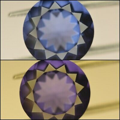 Fluorine 7.65ct color change exceptional cut fluorin (untreated)