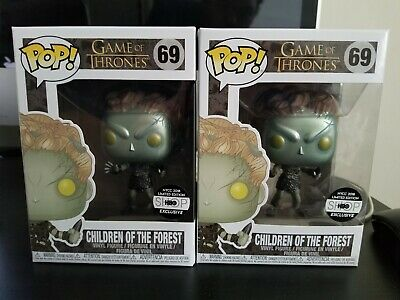 Metallic Children of the Forest Funko POP #69 Game of Thrones HBO Exclusive MINT