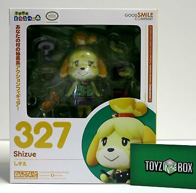In STOCK Nendoroid Animal Crossing New Leaf Shizue (Isabelle) 327 Action Figure