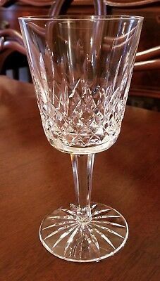 LISMORE MOUTH-BLOWN HAND-CUT CRYSTAL GLASS WATER GOBLET by WATERFORD #2
