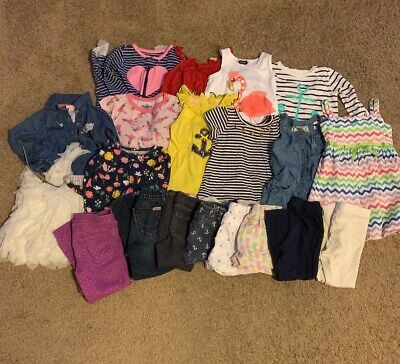 fef606aa4ee1 LOT Toddler Girls Clothes - 3T - Summer 19 Pieces - Hudson Juicy Gap Mud Pie