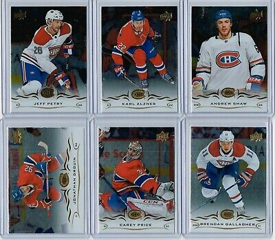 2018-19 UD Series 1 Silver Foil Team Set Montreal Canadiens - Price Drouin