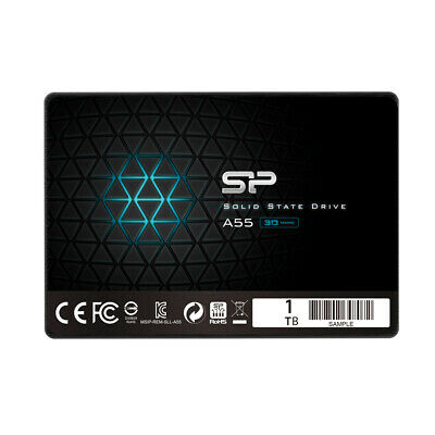 Silicon Power 1 TB SSD NAND 3D-A55 SLC Cache Performance Boost SATA III
