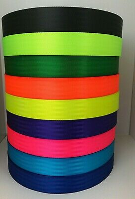 Seat Belt Webbing 50mm wide - 2'' Polyester webbing x 100 meters
