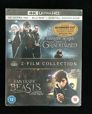 Fantastic Beasts 2-Film Collection Blu-ray / 4K Ultra HD Adventure Movie
