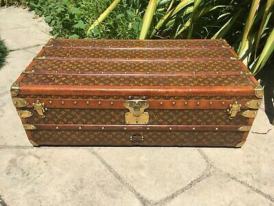 LOUIS VUITTON Cabin trunk Monogram Steamer Trunk chest purse bag LV
