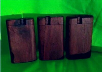 DUGOUT [BLACK WALNUT] One Hitter,2 inch Pipe [DARK CHOCOLATE COLORED],19 Sold