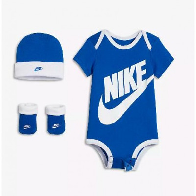 1a60ae8e8 NIKE BABY BOY / Girl 3-piece Outfit Gift Set Red and Blue 6-12 ...