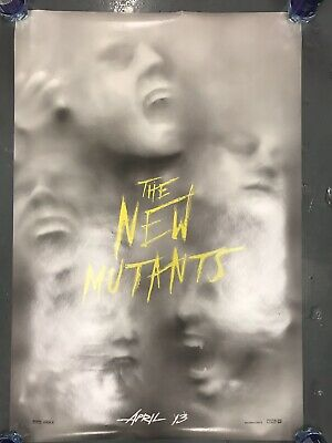 XMEN THE NEW MUTANTS Original ADVANCE Movie Poster 27x40, Double Sided, MARVEL