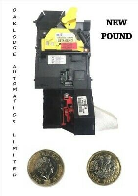 Mei Cash flow 9524E Fruit Machine Coin Acceptor Mechanism Updated New Pound Coin