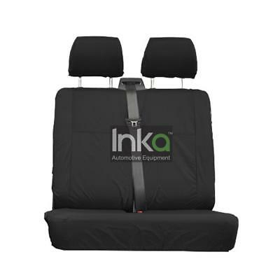Mercedes Vito RHD Front Double Inka Tailored Seat Cover + (COMFORT) MY04+ BLACK