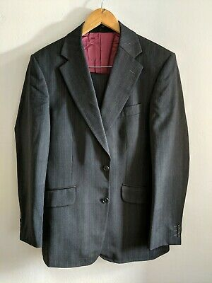 "Limehaus Pure Wool Suit 38"" Jacket 32"" Waist <KK668"