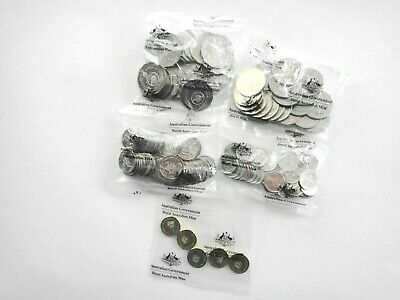 2016 Changeover  5 10 20 50  $2 Coins 50th Anniversary of Decimal Currency UNC