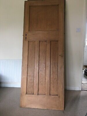 Original 1930's Solid Pine doors, Stripped & waxed 1970mm X 700mm Approximate
