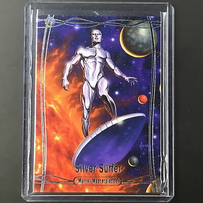2016 Marvel Masterpieces SILVER SURFER #88 Level 4 /99