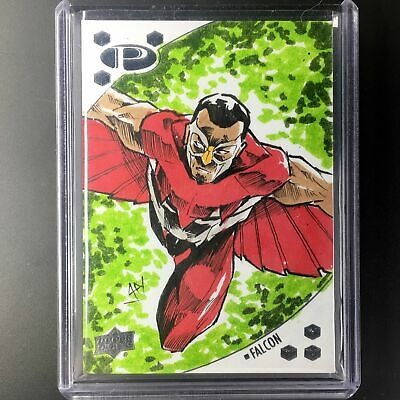 2017 Marvel Premier FALCON Sketch Ajhay Cerezo 1/1