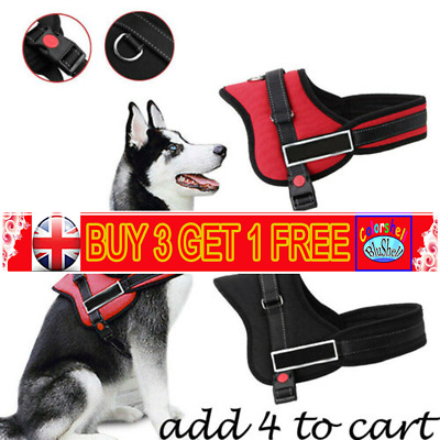 No-pull Dog Harness Outdoor Adventure Pet Vest Padded Handle Small/Extra Large C