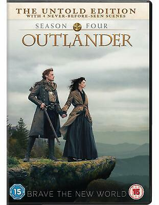 Outlander: Season Four [DVD] - NEW & SEALED - FREE UK DELIVERY