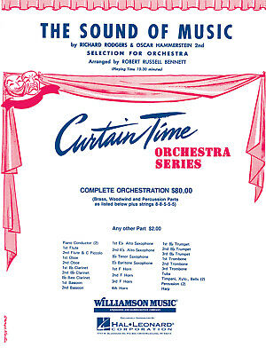 The Sound of Music - Selection for Orchestra Orchestra Set MUSIC SCORE & PARTS