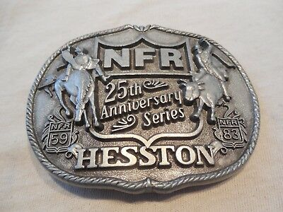NFR, (National Finals Rodeo), 25th Anniversary Series, Hesston Belt Buckle
