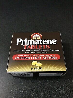 Primatene 60 Count Original Exp 2021 Free Shipping